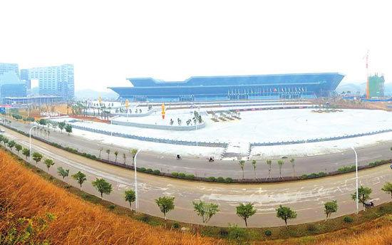 柳州市区城市建成区规模已超过160平方公里(图)