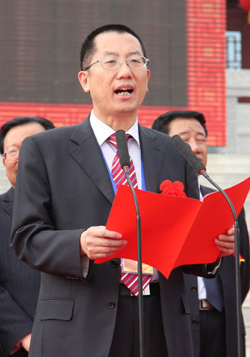 2012崆峒文化旅游节启动仪式在灵台举行
