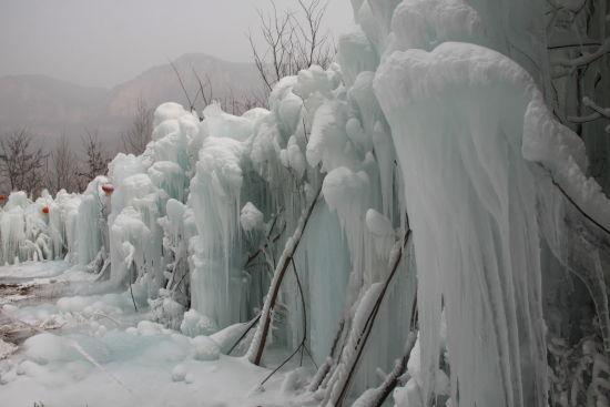 2013第二届中国�^�^水冰瀑旅游文化节启动仪式