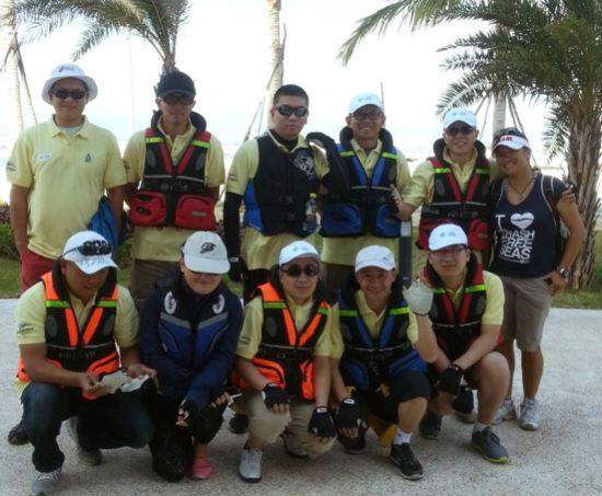 2013环海南岛国际大帆船赛帆船训练营开营