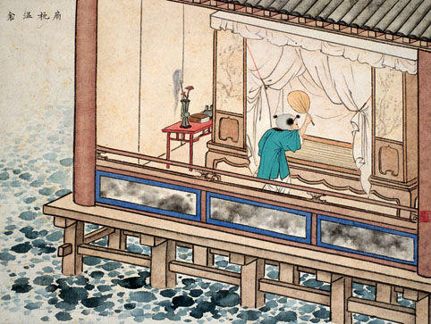 古代二十四孝故事:扇枕温衾(图)
