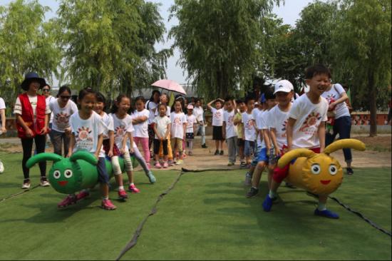 """红星集体农庄举办""""放飞童心体验童趣""""六一亲子特别活动"""