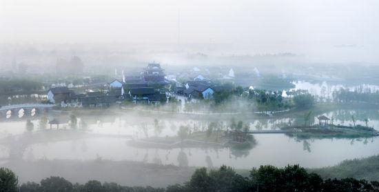 大湖育身文化铸魂 洪泽湖畔崛起的洪泽城
