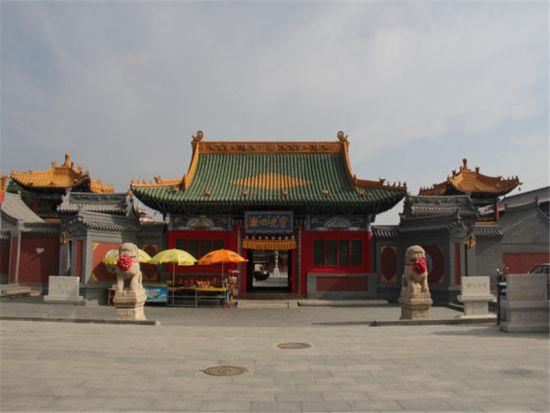 佛教古刹建筑经典 史料宝藏呼和浩特席力图召