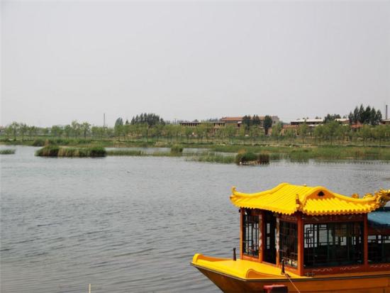 呼和浩特南湖湿地公园简介