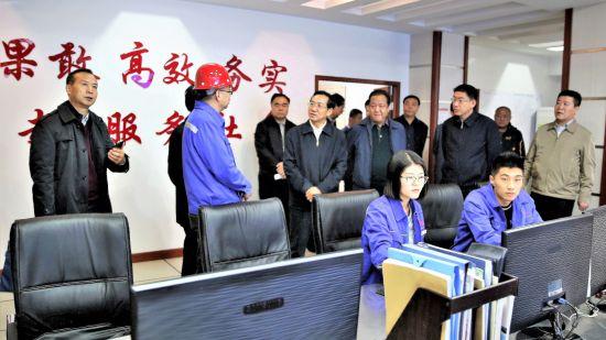 内蒙古自治区常军政副主席对我市秋冬季大气污染防治 工作进行调研