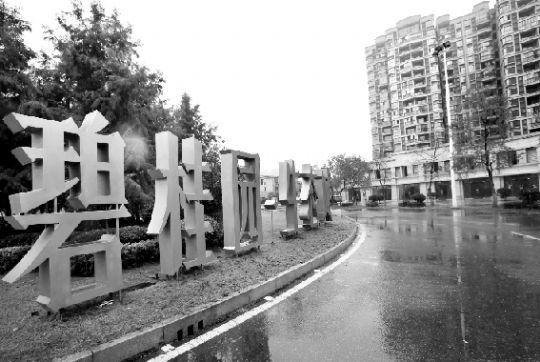 位于武汉市东郊的花山镇碧桂园生态城项目。本报记者 傅坚 摄
