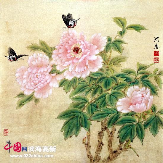 尽新气来 中国花鸟画家郭鸿春印象 组图