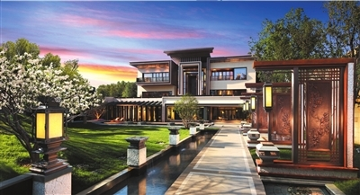 北京3亿元级别墅组团入市招质疑酒窖别墅图片