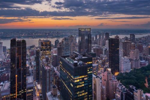 纽约顶层豪宅要价1亿美元为全市最高多层公寓