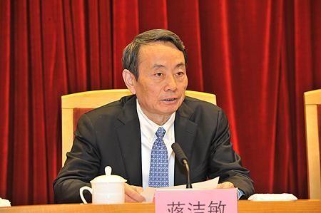 国资委主任、党委副书记蒋洁敏
