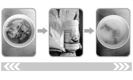 央视曝光成都街头部分羊肉汤成分为水+香精+增白剂