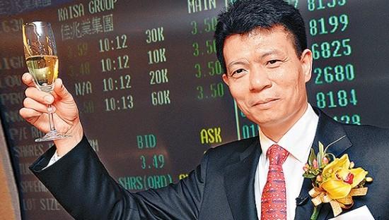 佳兆业集儿子团弄控股拥有限公司主席兼实行董事郭英成。图片到来源:CFP