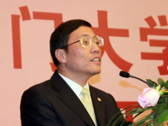 厦门大学管理学院院长沈艺峰致辞