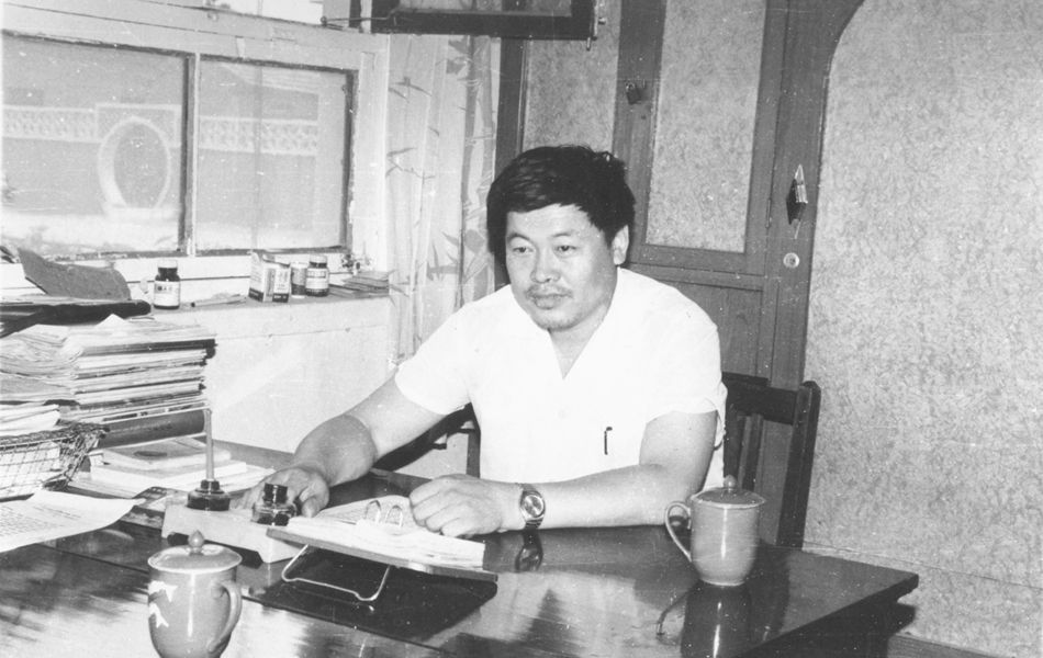1981年出任邹平县第五油棉厂长