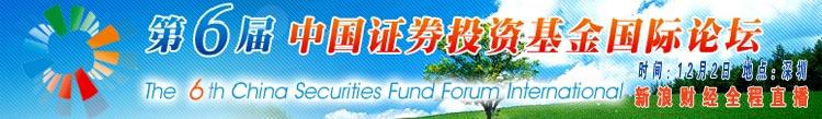 第六届中国证券投资基金国际论坛