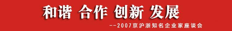 2007京沪浙知名企业家座谈会