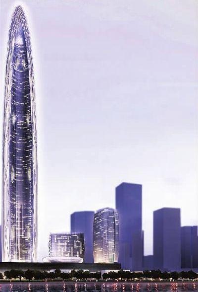 武汉开建全球第三高楼 高606米投资逾300亿(图)