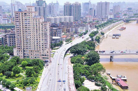 南宁将更宜居 未来邕江两岸将成旧城改造重点