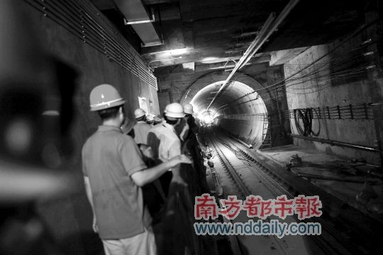 深圳轨道办主任:深圳地铁不存在赶工期问题