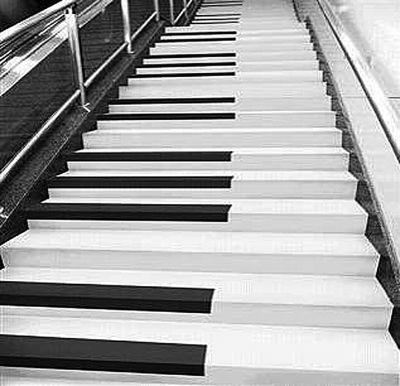 """全国首个""""音乐楼梯""""将南京地铁站内亮相(图)"""