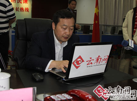 昆明市长张祖林对话百姓解答民生 亲自接听来电