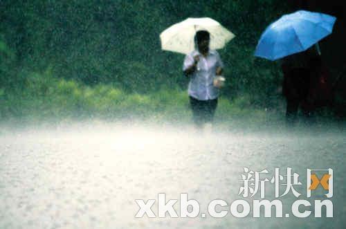 水浸下一站 会否是广州(组图)