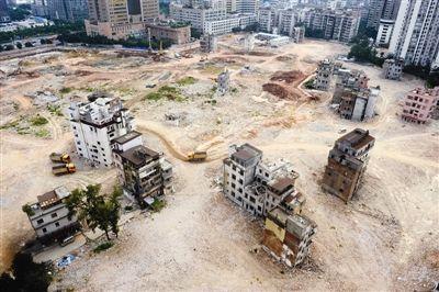 广州杨箕村改造停滞一年 上千村民要求回迁(图)
