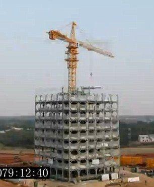 湖南:15天建成30层酒店 称可抗9级地震(组图)