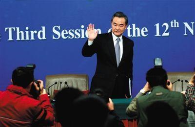 王毅:南海造岛不是跑别人家搞违建