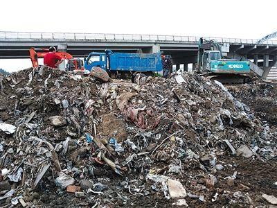 上海垃圾处理能力接近饱和 催生垃圾外倒产业链