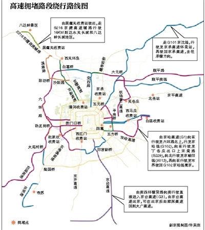 """京藏高速等7条高速春节依然最""""忙"""""""