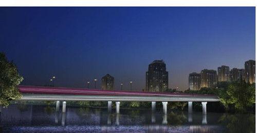 """古河""""焕""""新颜 杭州贴沙河上三座跨线桥年底亮灯"""