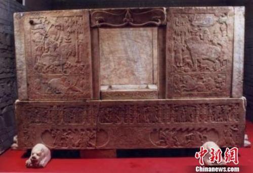 山西博物院回应虞弘墓石椁损伤:正制订防护措施