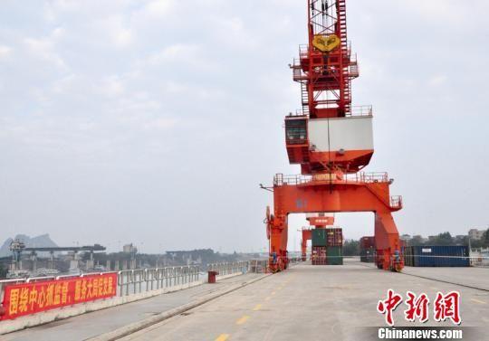 广西贵港加速打造立体交通体系 促西江流域城市互联互通