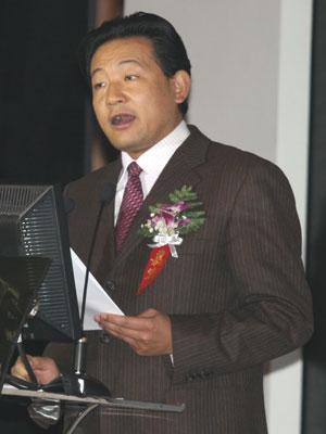 图文:大会主席、南开大学白长虹做总结陈词
