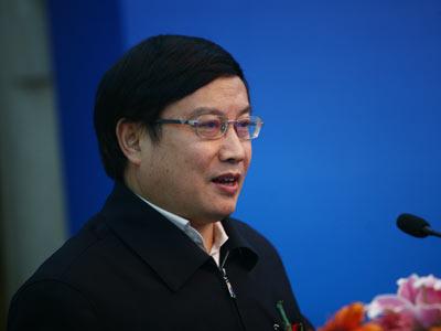 图文:中国金融学会副秘书长杨再平