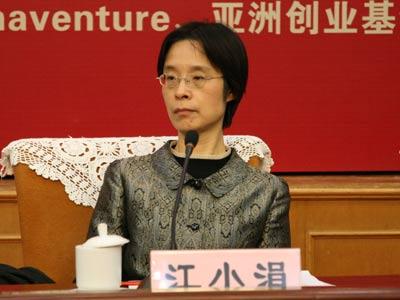 国务院政策研究室副主任江小娟
