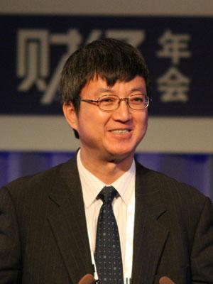 图文:中国银行副行长朱民