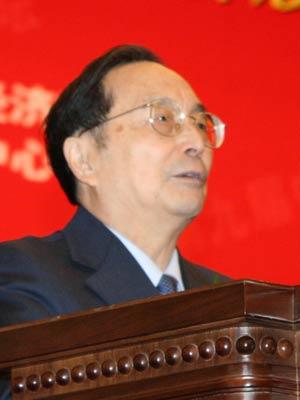 图文:全国人大常委副委员长蒋正华