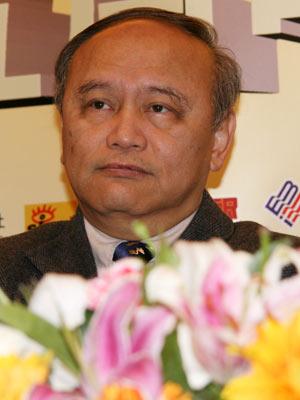 图文:香港科技大学社会科学部教授涂肇庆