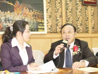图文:专访南方报业集团管委会主任社长杨兴锋