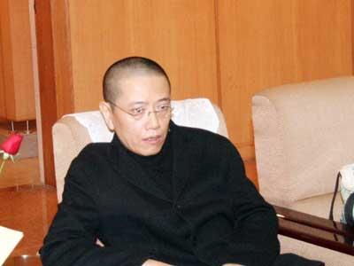 图文:著名艺术家陈丹青