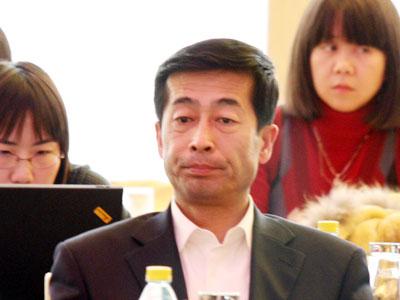 图文:伊利集团执行总裁张剑秋