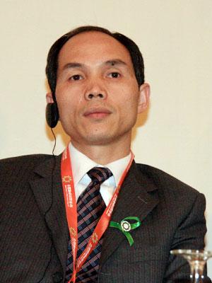 图文:北京桑德环保集团董事长、总裁文一波