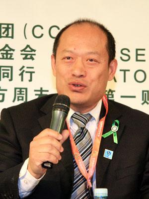 图文:国家环境保护部宣教中心副主任贾峰