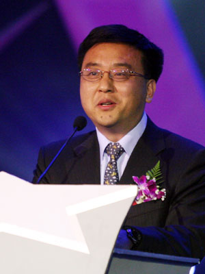 张亚勤:通过发展与中国信息产业一起共赢(图)
