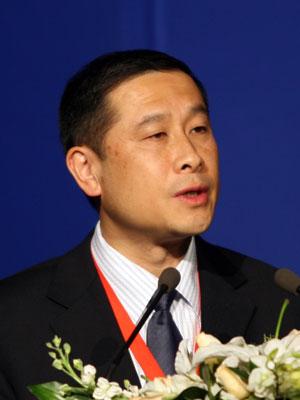 图文:经济日报社副总编辑林跃然致辞