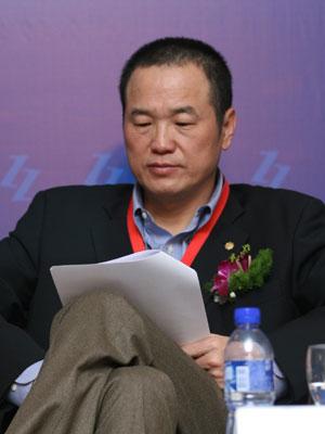 图文:北京市中坤投资集团董事长黄怒波