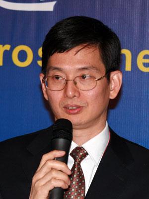 图文:国务院台湾事务办公室经济局局长徐莽